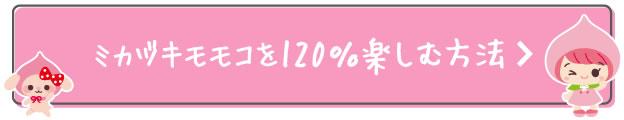 ミカヅキモモコを120%楽しむ方法