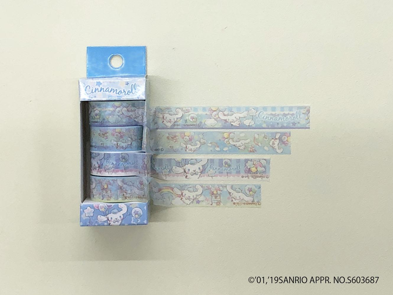 【サンリオコラボ商品】マスキングテープ(4P)